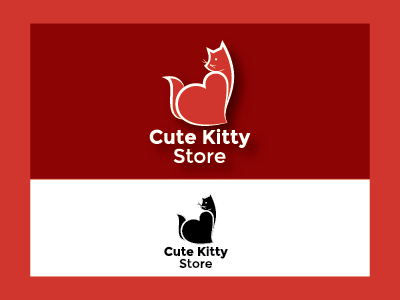 Cute Kitty Logo Project