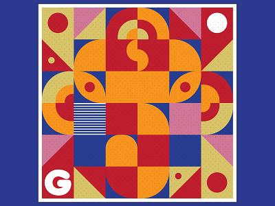 Abstract Ganesha hindugod ganesha abstract