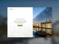 Luo Hong Art Museum_Landing Page