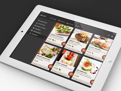eMenu: Redefining Dining Experience ui ux app ios android user interface menu restaurant order food