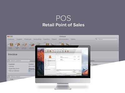 Retail Point of Sales point of sales business interface ui desktop app pos