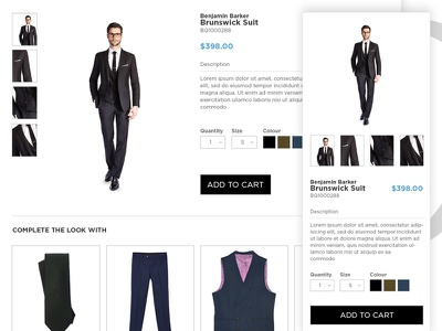Product Recommendation product suggestion product recommendation store web responsive fashion shop e-commerce