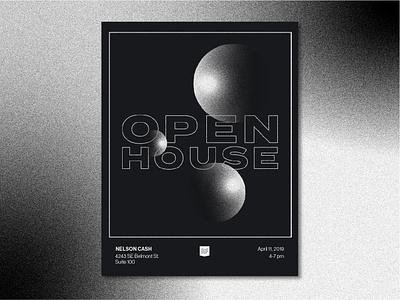 Design Week Portland Poster dwp design week portland open house poster gradients