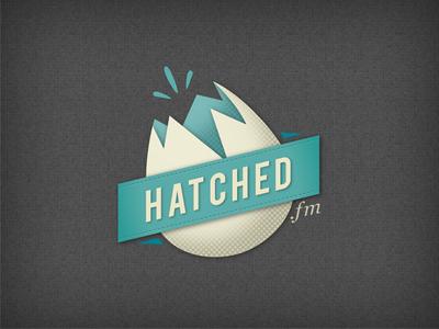 Hatched.fm - Logo B