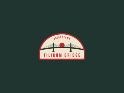 Bridgetown Badge – Tilikum Bridge