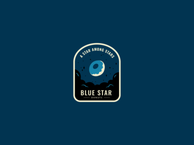 Blue Star Donuts Badge