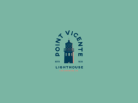 Point Vicente Lighthouse Badge