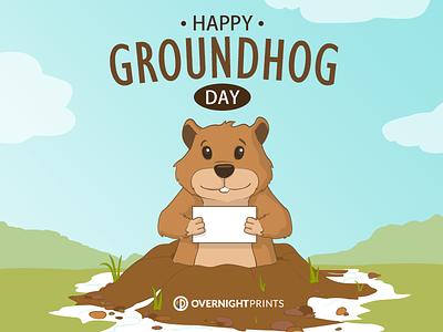 Groundhogdayonp spring groundhog day
