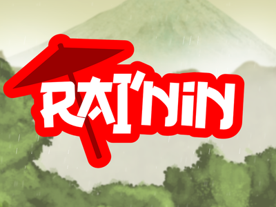 Rai'nin Logo ninja game ios app logo