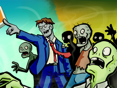 Zombies! artwork comic character design illustration app twitter zombie zombies