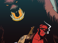Hellboy Vs The Gruffalo
