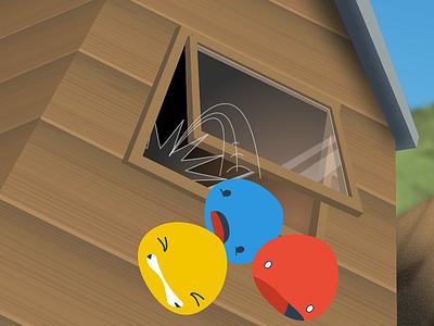 A long way down... acrosplat design app logo android ios game
