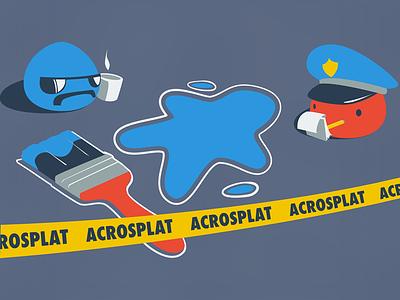 Acrosplat EGX 2016 T-shirt apparel tee t-shirt acrosplat design app logo android ios game