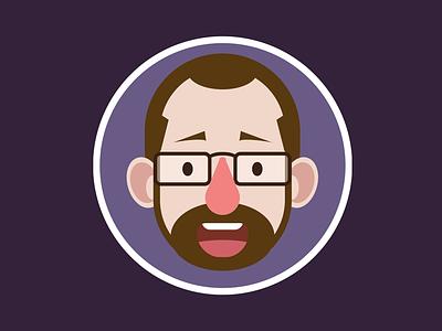 CSS Self-portrait code design web css illustration