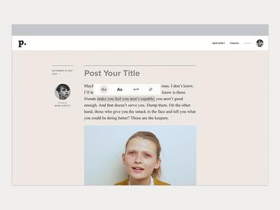 Pheed - Crowdsourced News Journalism news creation design website interactive ux ui app