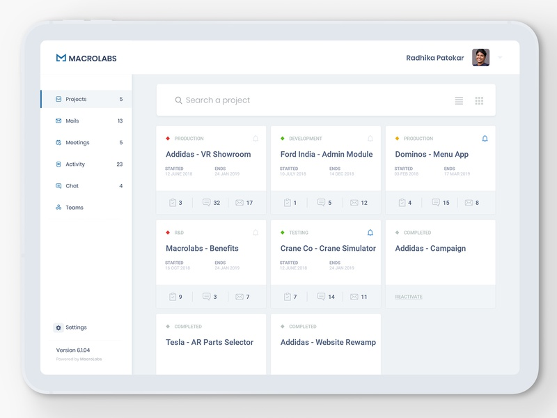 Project Management Designs Themes Templates And Downloadable Graphic Elements On Dribbble