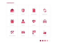 Iconography - Security App