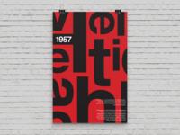 Typography Poster | Helvetica