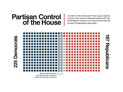 2018 Midterm Election Infographic