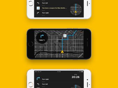 Simple Navigation App Concept