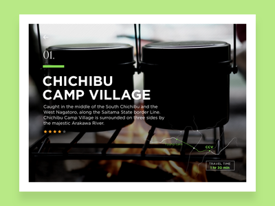 Let's Go Camping! #2 map camp life forest camping ui ux