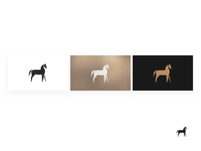 Sketching icon horse icon