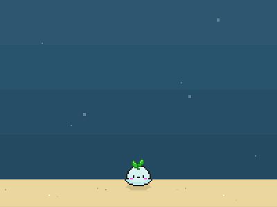 Whalesprout pixel art pixels cute bit