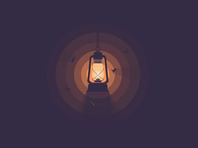 Lantern icon a day icons icon lantern light moths moth darkness shade warm