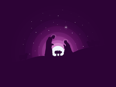 Betlehem icon a day icons icon design vector art illustration betlehem jesus christmas baby jesus