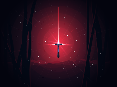Kylo Ren Lightsaber jedi force sith dark side universe light space starwars kylo ren lightsaber ren kylo