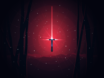 Kylo Ren Lightsaber jedi force sith dark side universe light space starwars kylo ren lightsaber ren kylo