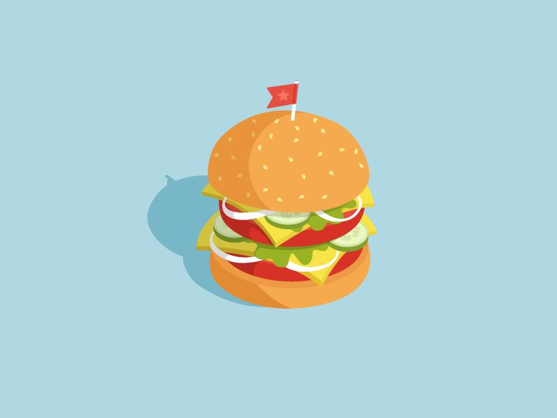 Burger icon design vector illustration best fitness health junk fastfood mc king burger king cheese bacon flat menu burgers foodporn burger