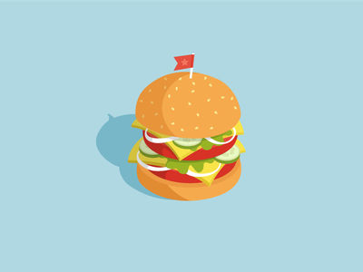 Burger icon design vector illustration best fitness health junk fastfood mc king burger king cheese bacon flat menu burgers foodporn burger