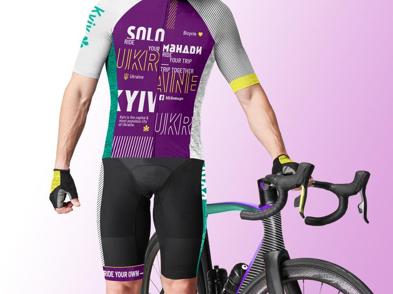 Bicycle uniform sport color pattern uniform bicycle