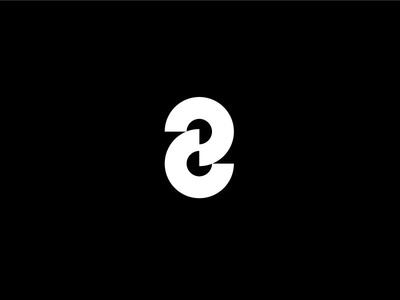 eight abstract eight number figure numeral mark lettermark