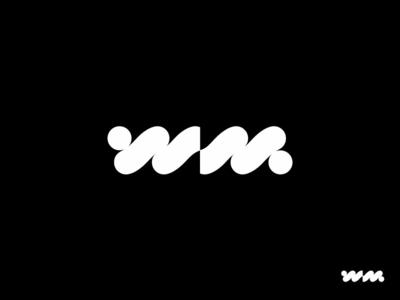 WM branding typogaphy mark monogram sign logotype letter abbreviation