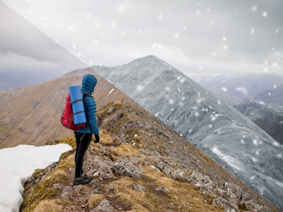 Instant Winter Photoshop Effect