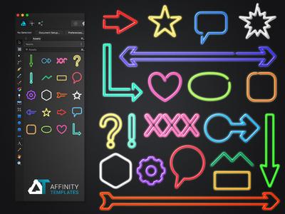 Neon Kit for Affinity Designer