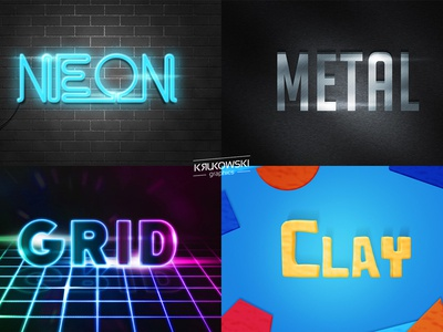 Photoshop Text Effects Pack vol.2