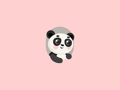 Panda logo illustration vector illustration panda bear panda illustration logo logo design panda logo panda