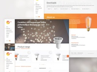 Website for a Lighting Webshop