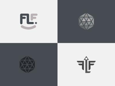 FLF logo design