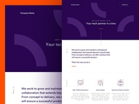 Consulting Business Website WIP