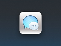 iOS 7 Messages App Icon