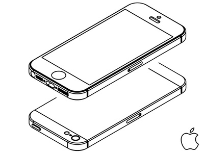 iPhone 5 Outlines