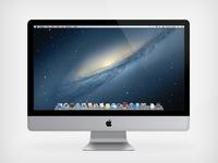 "iMac 21.5"" Vector"