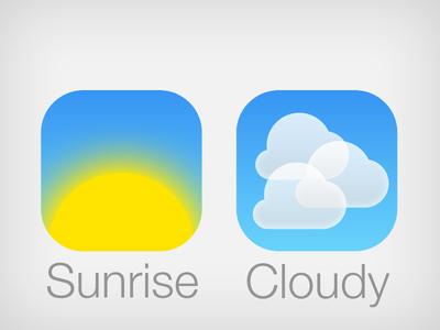 Weather iOS 7