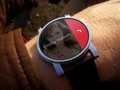 Smartwatch Phone Call UI