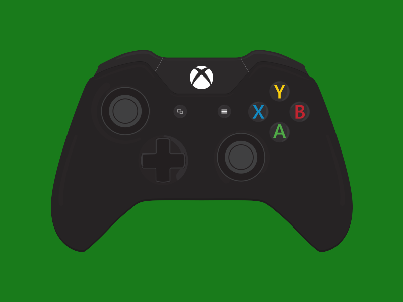 xbox one controller by luke zammit dribbble