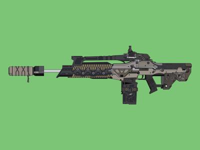 M8A1 Reflex + Fast Mags + Suppressed